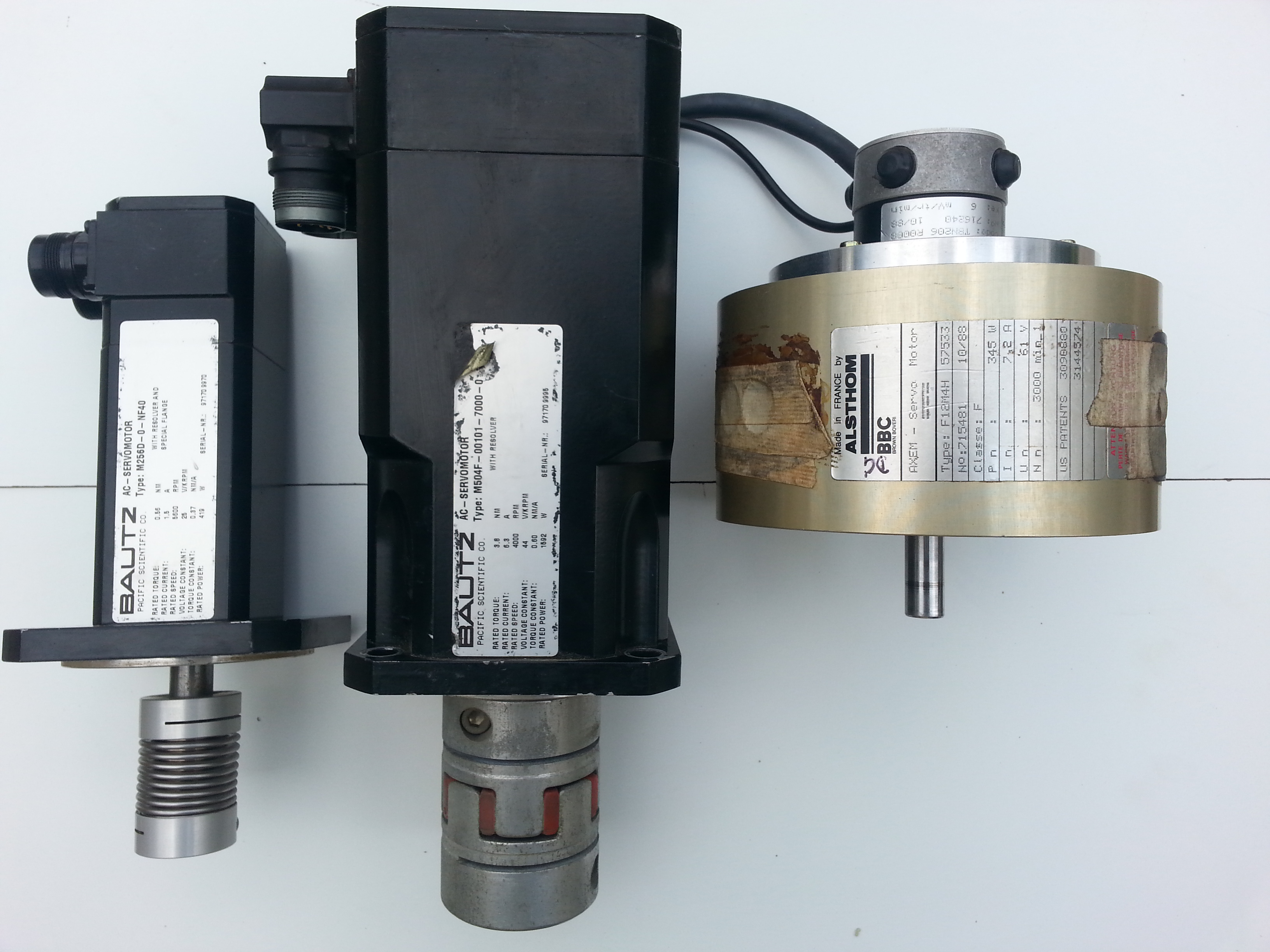 AC-DC MOTOR FOR CNC MACHINE